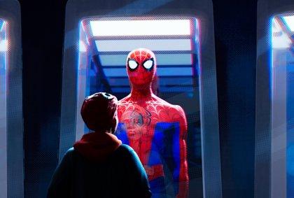 Nueva imagen de Spider-Man Un nuevo universo: ¿Qué icónico traje elegirá Miles Morales?