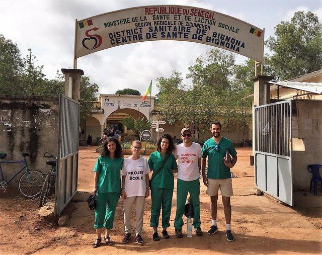 Grupo de empleados de Cofares en Senegal