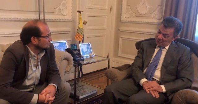 El nuevo oficio del presidente Juan Manuel Santos: !Youtuber!