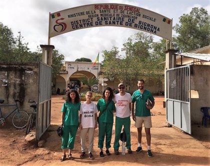 Los empleados de Cofares ofrecen ayuda humanitaria en Senegal