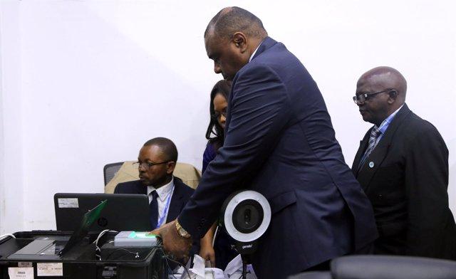El opositor congoleño Jean-Pierre Bemba