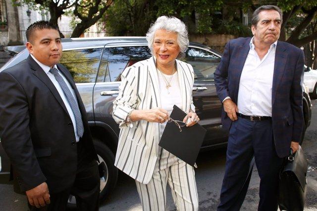Olga Sanchez Cordero, propuesta para el cargo de ministra del Interior