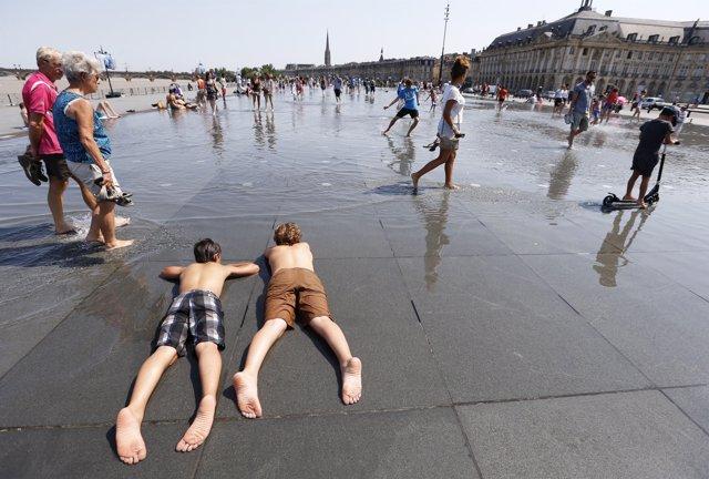 Ola de calor en Europa (archivo)
