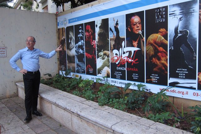El vicedirector del Centro Suzanne Dellal (Tel Aviv), Claudio Kogon