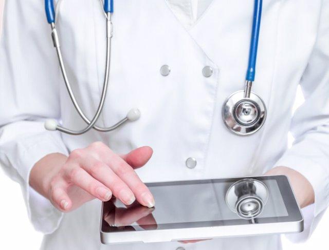 App sanitaria. Aplicaciones móviles. E-health.