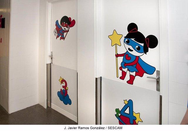 Consultas de Pediatría del Hospital de Guadalajara