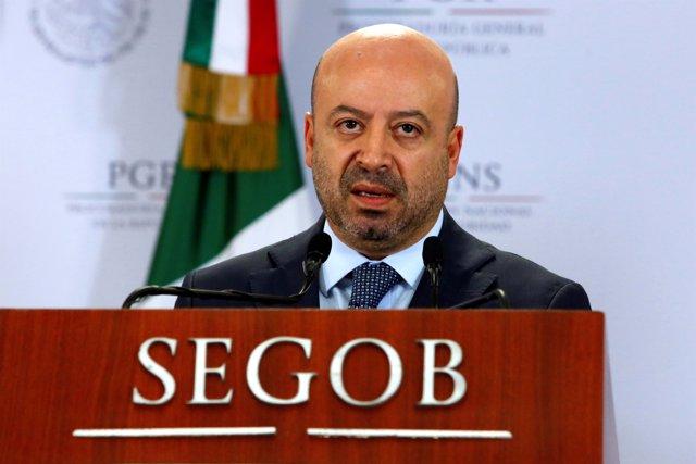 Renato Sales, comisionado Nacional de Seguridad de México