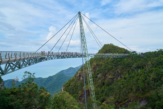 Puente del Cielo, Malasia