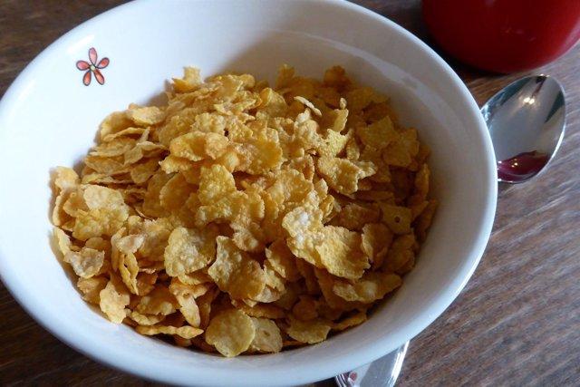 Copos de maíz, corn flakes
