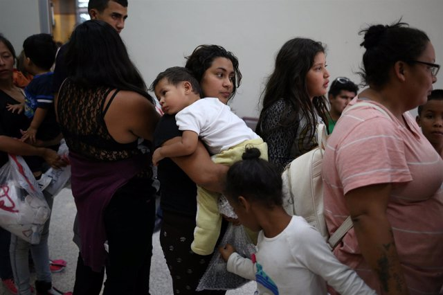 Familias de inmigrantes en Estados Unidos