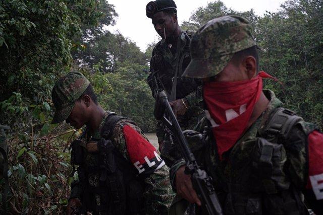 Integrantes del Ejército de Liberación Nacional (ELN) de Colombia