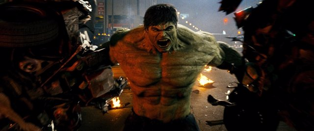 Edward Norton en El increíble Hulk