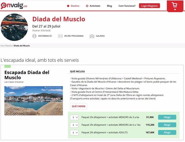 L'agència de viatges 'online' Onvaig.cat