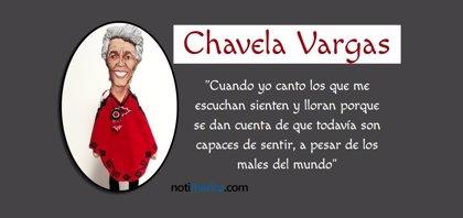 Las 5 canciones más emblemáticas de Chavela Vargas