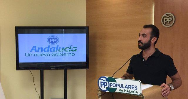 Enrique Rodríguez Kike NNGG Andalucía Nuevas Generaciones PP