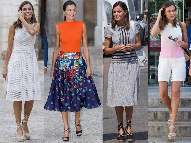 24c59e5e66 Todos los looks de la Reina Letizia durante su viaje a Palma de Mallorca