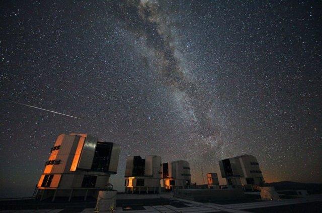 Las Perseidas vistas desde Chile