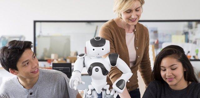 Robot Nao de Softbank Robotics