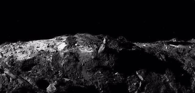 Superficie del cometa 67P
