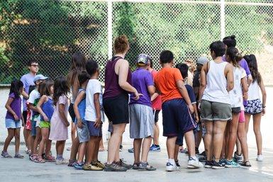 Els casals Baobab que Barcelona ofereix a nens durant l'agost s'estenen a tres barris més (AYUNTAMIENTO DE BARCELONA)