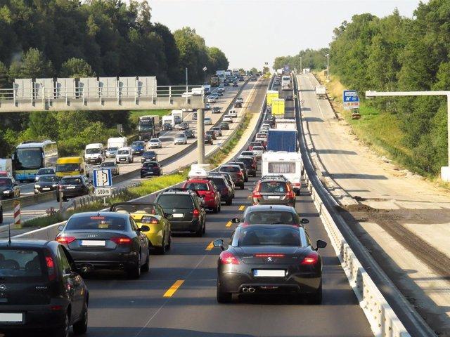 Tráfico, atasco, contaminación