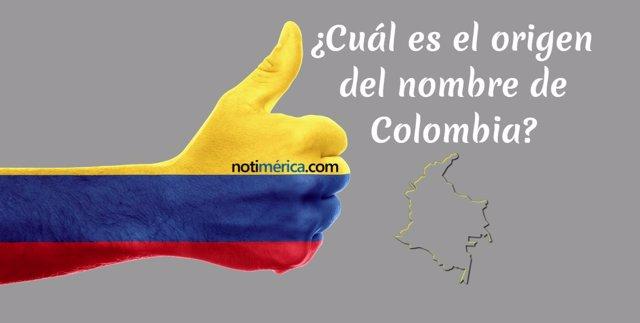 Cuál es el origen del nombre de Colombia