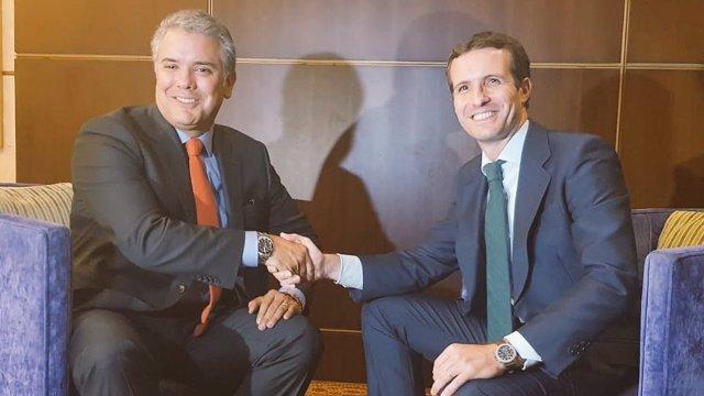Casado con Iván Duque, presidente de Colombia