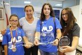 Foto: El Gobierno felicita a las medallistas cántabras de tenis de mesa