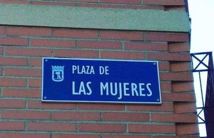 Las mujeres de Madrid ya tienen su Plaza en Vicálvaro con placas identificativas