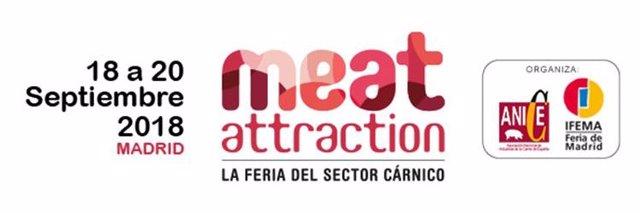 Cartel de la feria Meat Attraction