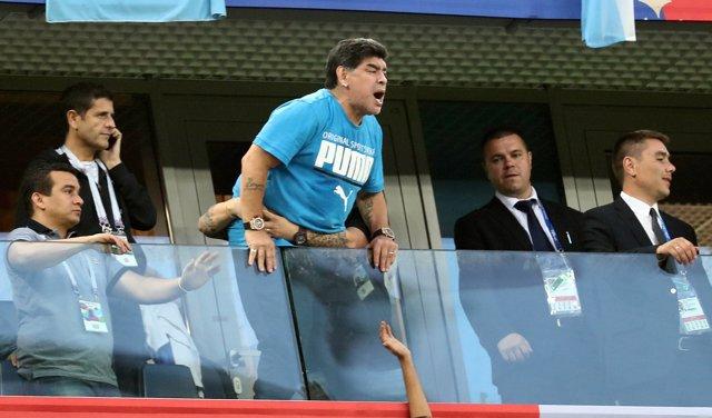 Maradona en el Mundial