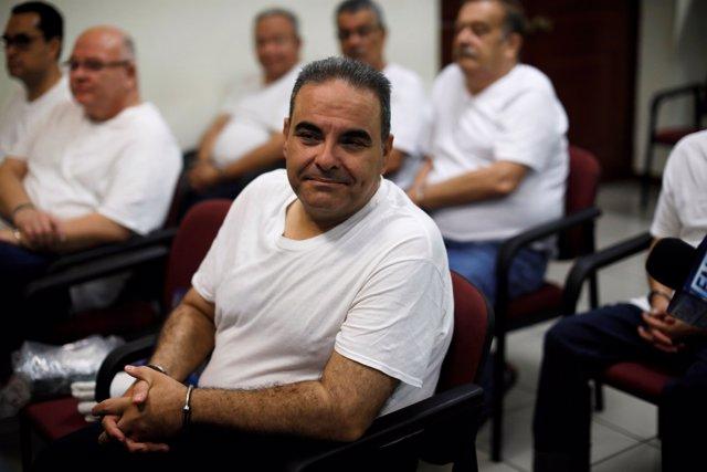 El ex presidente de El Salvador Antonio Saca