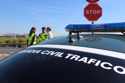 Muere un motorista al salirse de la calzada en la A-312, en Chiclana de Segura (Jaén)