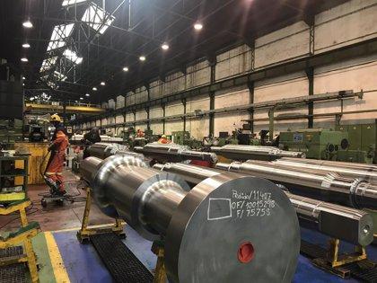 Cantabria lidera el crecimiento de la producción industrial en junio con un 5,8%
