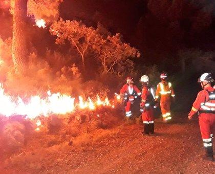 El incendio de Llutxent arrasa más de 2.600 hectáreas y calcina entre 10 y 20 casas