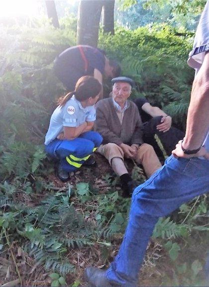 Encontrado en buen estado el octogenario desaparecido el martes en Arzúa (A Coruña)