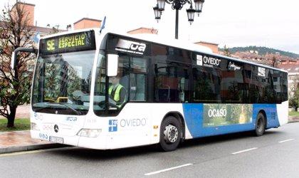 El transporte urbano por autobús cae un 2,3% en Asturias en junio