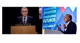 Isidre Fainé (la Caixa) y Pablo Isla (inditex), directivos líderes en RSE según