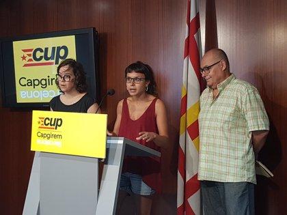"""La CUP de Barcelona ve """"escenificación"""" en la comisión de Seguridad y anuncia que no acudirá"""