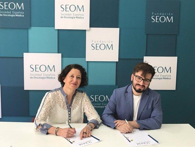 Renovación del convenio entre la Sociedad Española de Oncología Médica y el Cons