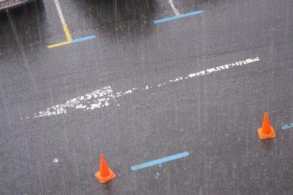 Activado el aviso amarillo por precipitaciones intensas en Bizkaia y Gipuzkoa a partir de las nueve de la noche