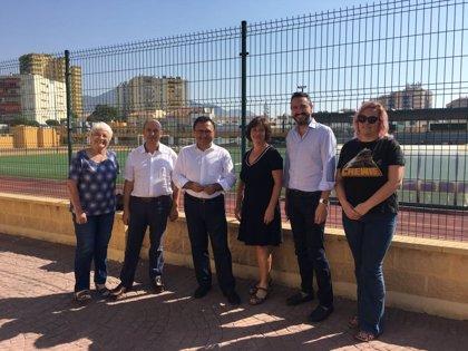 El Gobierno informa de la finalización de las obras de reparación de diez pasarelas peatonales en la A-7 de Málaga