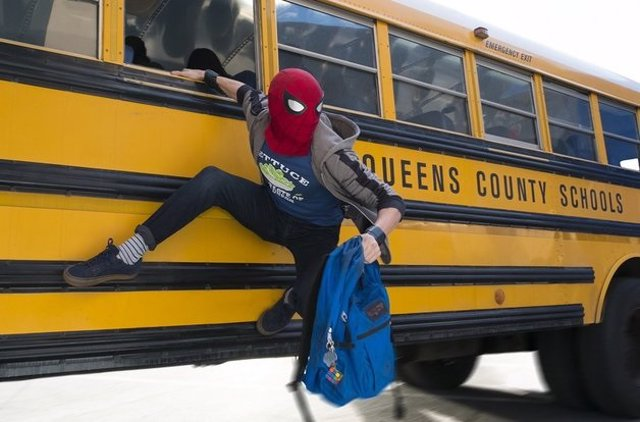 Spiderman en Vengadores: Infinity War