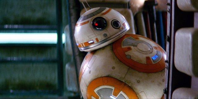 BB-8 en Star Wars: El despertar de la Fuerza.