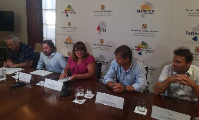 Jaume Alzamora, Álvaro Martínez,B.Busquets,Manuel Hernández y José Luis Córcoles