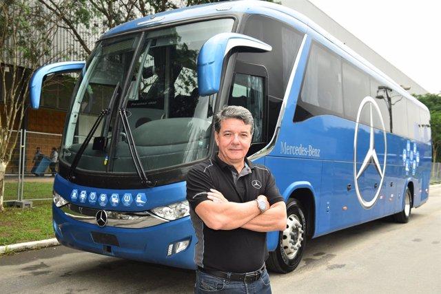 Roberto Leoncini, vicepresidente de Ventas y Marketing de Mercedes-Benz Brasil
