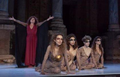 """'Las amazonas' de Magüi Mira se estrenan en el Festival de Mérida con el cartel de """"no hay entradas"""" en el Teatro Romano"""