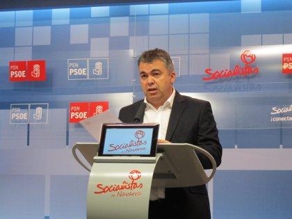 """Santos Cerdán (PSOE) acusa a Iturgaiz (PP) """"utilizar el terrorismo"""" para hacer política y critica su """"bajeza moral"""""""