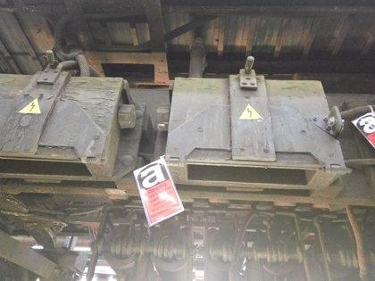 Metro licita un contrato para desamiantar el material móvil y equipos de trabajo de mantenimiento por 2 millones