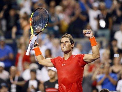 Nadal debuta con victoria y se cita en octavos con Wawrinka